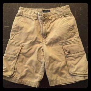 Ralph Lauren Polo Khaki cargo shorts size 8